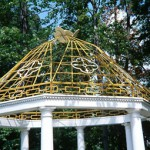 Hex Sided Pavilion Dome