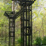 Trellis Gateway with two columns- 10' x 8 1/2' x 2 1/2'