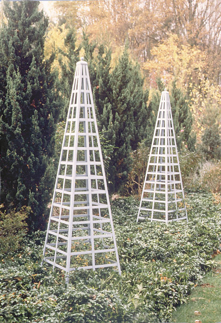 Pyramid Trellis, Custom Sizes